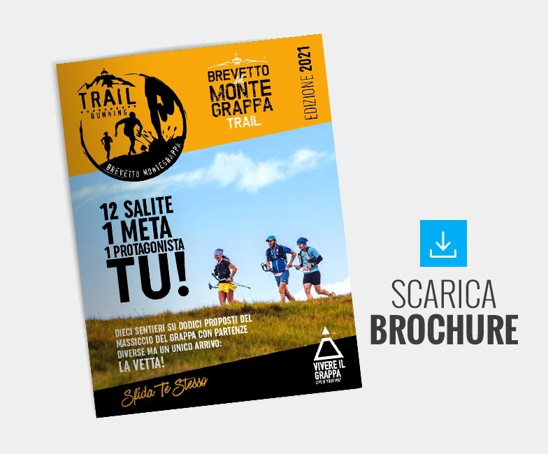 Brochure Brevetto Montegrappa Trail Running
