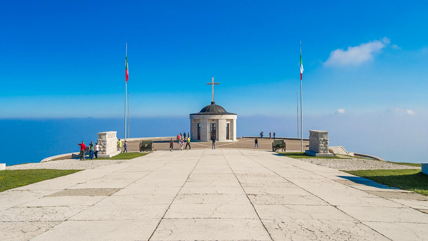 The military Memorial on Monte Grappa