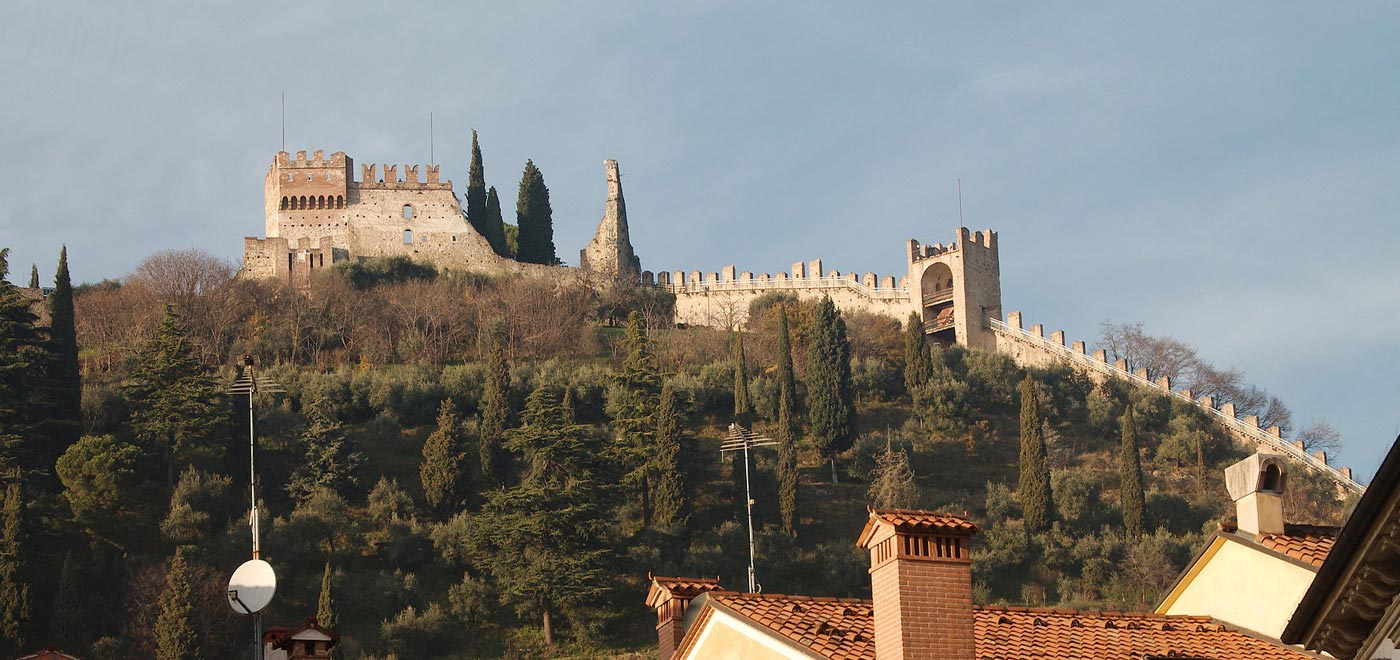 The Medieval walls of Marostica