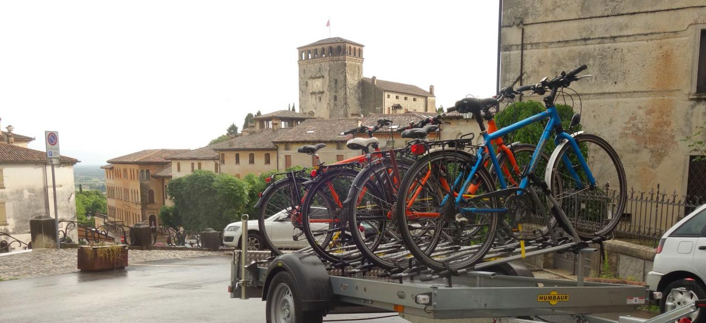 bosa services bike shuttle asolo treviso