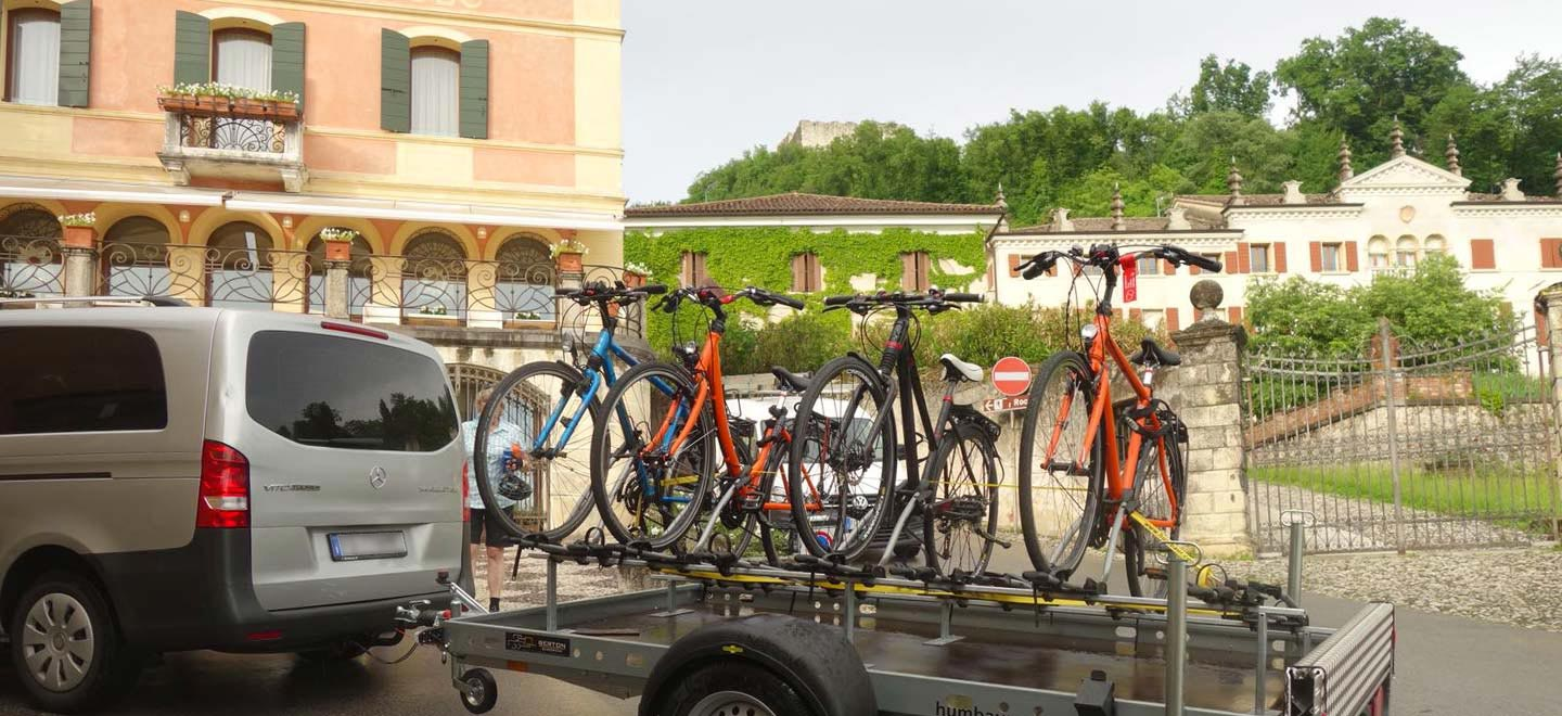 bosa services bike shuttle monte grappa