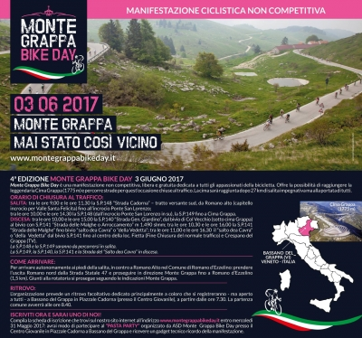 4ª Edizione Monte Grappa Bike Day