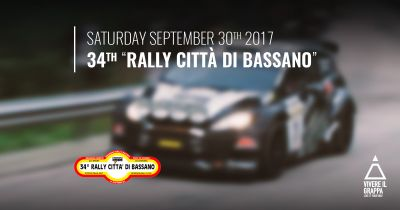 Rally Città di Bassano 34th issue - Saturday September 30th 2017