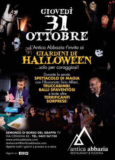 Halloween Party Antica Abbazia