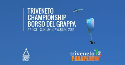 7th test of the Triveneto Championship of Paragliding and Hang gliding
