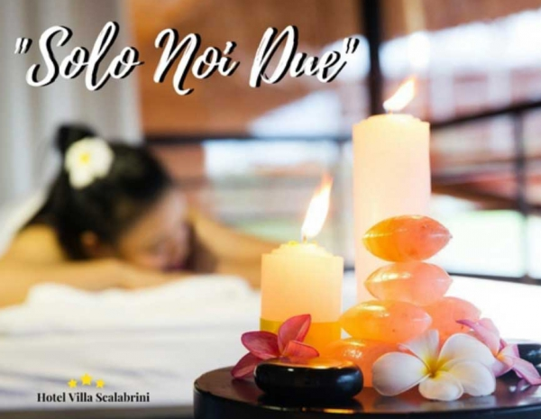 """""""JUST US"""": enjoy a romantic break and spend two nights in full relax"""